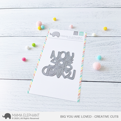 Mama Elephant - Big You Are Loved - Creative Cuts
