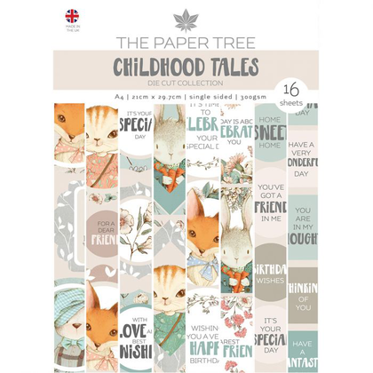 Creative Expressions • Tales A4 die cut sheets