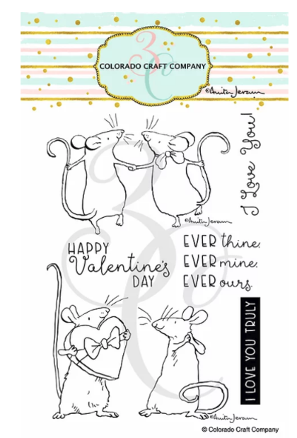 Set de sellos - Anita Jeram~Ever Thine