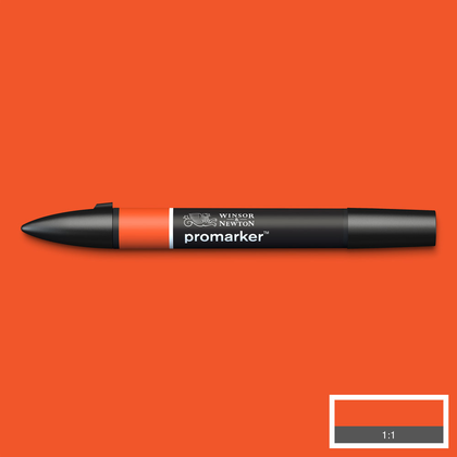 Promarker Bright Orange O177 - Winsor & Newton