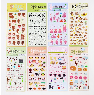 Love animals stickers