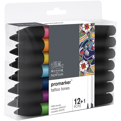 Set de 12 rotuladores + 1 blender Totto - Winsor & Newton