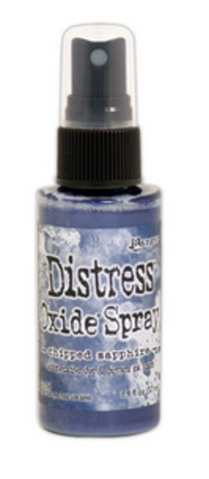 Distress Oxide Spray - Chipped sapphire