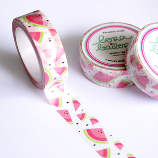 Washi tape sandias